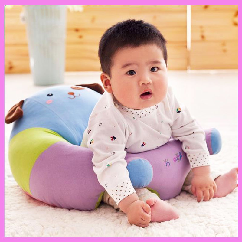 Baby Anti Rollover Safety Seat Portable Waist Stool Children Small Sofa Cartoon Plush Nursing Feeding Pillow Learn To Sit Sofa baby seat inflatable sofa stool stool bb portable small bath bath chair seat chair school