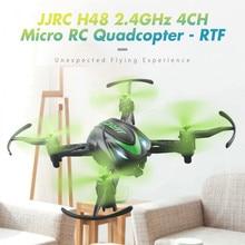 JJRC H48 Micro Радиоуправляемый Дрон RTF 6 оси гироскопа Винт Бесплатная Структура 2 режима зарядки Беспроводной удаленного Управление Quadcopters вертолеты