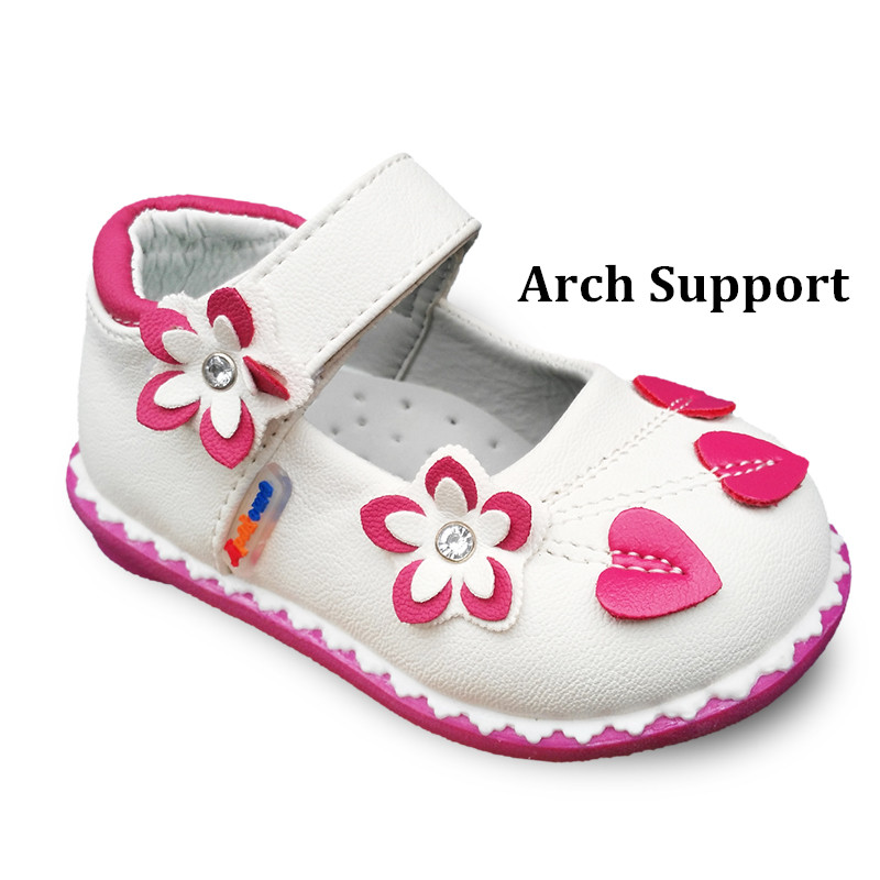 Lovely 1pair Flower Rhinestone Baby Arch Support  Casual Shoes Girl Shoes,Super Quality Kids/Children  Shoes