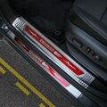 AUFLEGEN Edelstahl Auto Exterior Einstiegs Eintrag Guards Scuff Platten Trim Abdeckung Für Chevrolet Equinox 2017 Up Auto Styling|Styling-Formen|Kraftfahrzeuge und Motorräder -