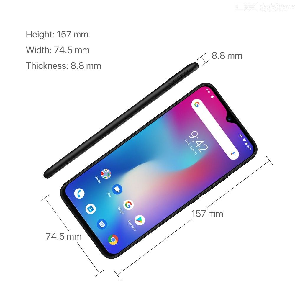 Image 5 - UMIDIGI Power Android 9.0 5150mAh Big Battery 18W 6.3' FHD+ Waterdrop Screen 4GB+64GB Helio P35 Global Version Smartphone 16MP-in Cellphones from Cellphones & Telecommunications