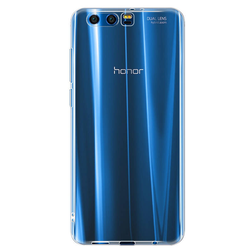 innovative design c0a74 85dc9 US $6.28 28% OFF|Huawei honor 9 case cover MOFi original honor 9 cover  silicone back case transparent clear soft protector honor9 capa coque  5.15-in ...