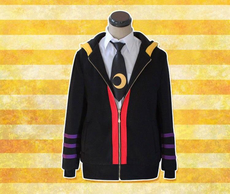 Assassination Classroom Korosensei Anime cotton hooded jacket Anime peripheral cosplay uniform