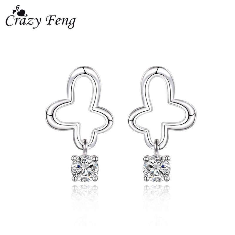 Brincos Crystal Earrings For Women Hot Sale Fashion Costume Jewelry Women Special Offer Classic Zircon Earrings Pendientes