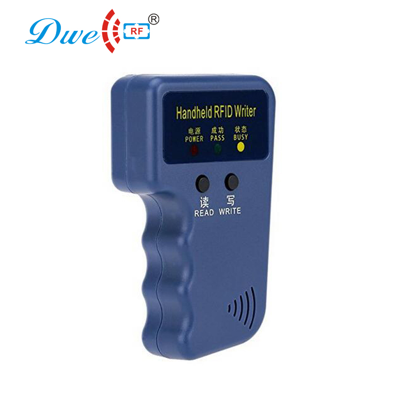 DWE CC RF control card readers rfid lf 125khz TK4100 access control rfid reader writer copier with 5 cards free