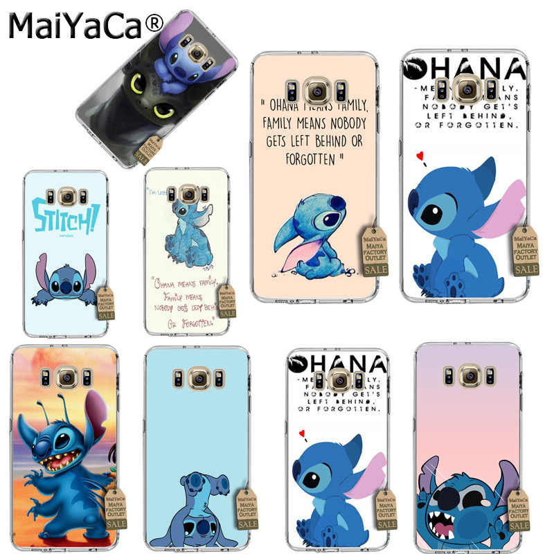 MaiYaCa Lilo Stitch soft tpu phone case cover for Samsung galaxy S5 S6 S7 S8 s7.jpg q50