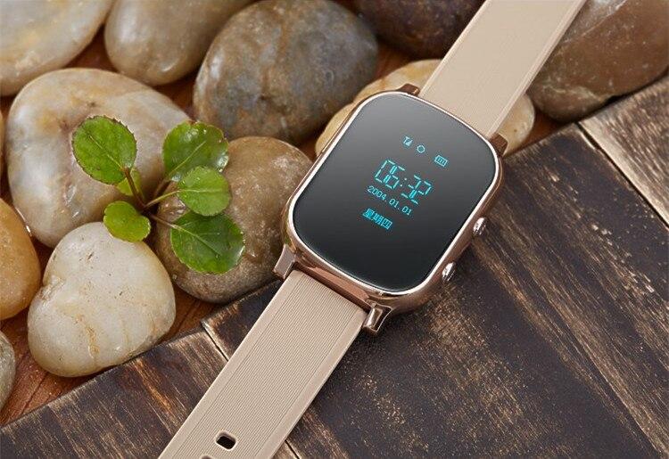 2016 newT58 Bluetooth font b Smart b font font b Watch b font wristwatch GPS tracker