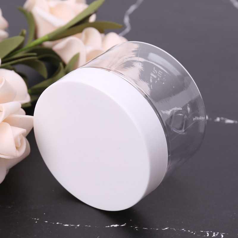 100 ml-260 ml pusty pojemnik do przechowywania organizator Box na lekka glina pianka play-doh szlam błoto makijaż Jar naczynie na kosmetyki butelka z kremem