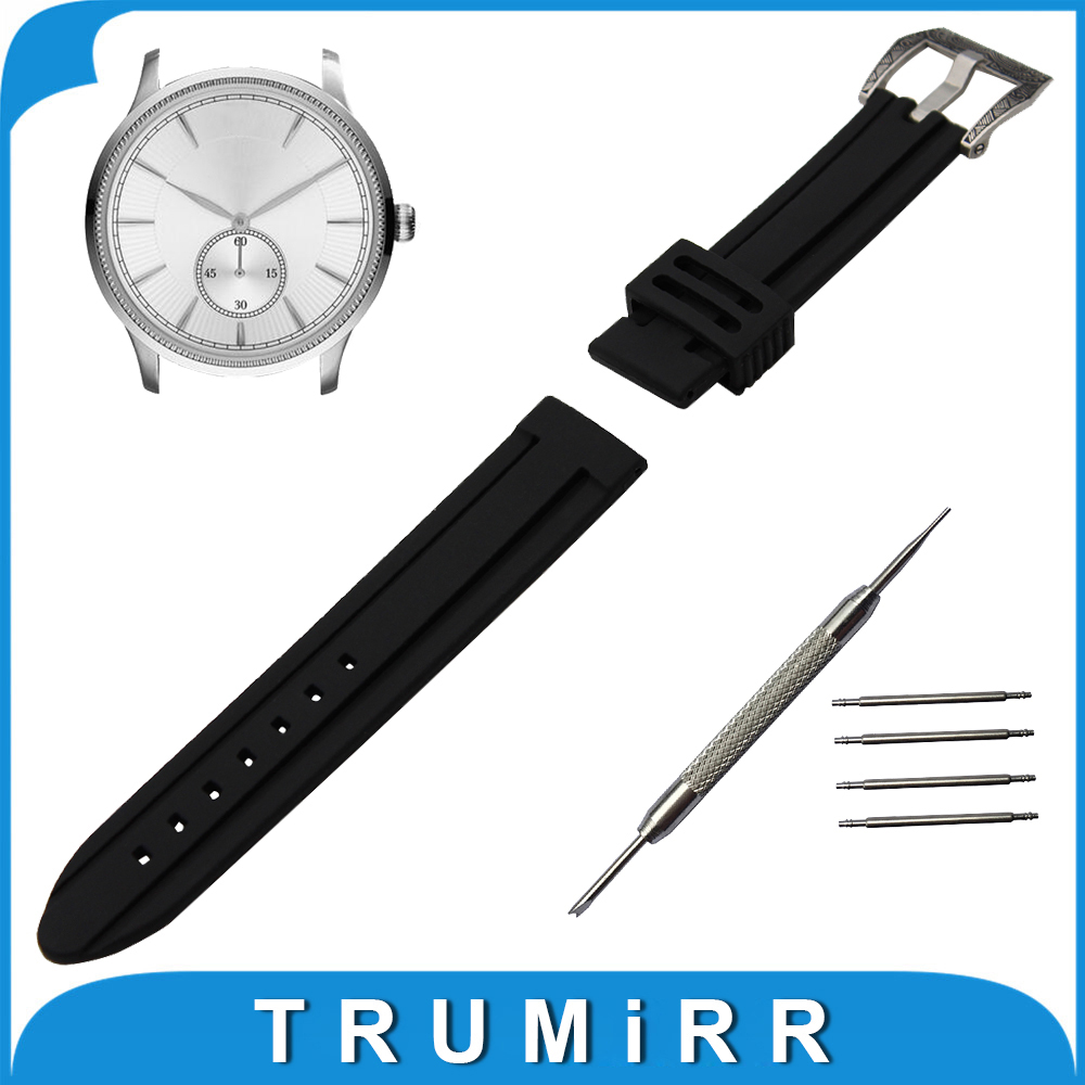 21mm 22mm 23mm 24mm Silicone Rubber Watch Band for Armani Watchband Stainless Steel Carved Pre-v Buckle Strap Wrist Belt 20mm 23mm high quality rubber silicone watchband for armani silicone rubber wrapped stainless steel watch strap for ar5906 5890