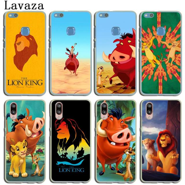 new product 21cfa 0ef14 US $1.99 22% OFF|Lavaza The Lion King Phone Shell Case for Huawei P20 P9  P10 Plus P8 Mate 20 Pro 10 Lite Mini 2016 2017 2015 P smart Cover-in ...