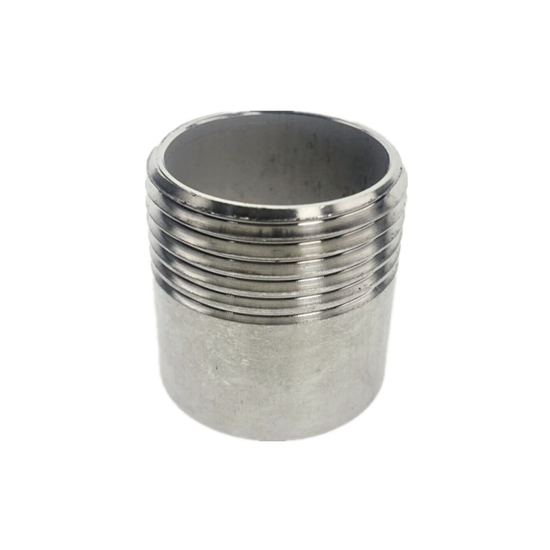 BSP Male Equal Straight Welding Nipple Joint Pipe Connection 304 Stainless Steel Connector Fittings