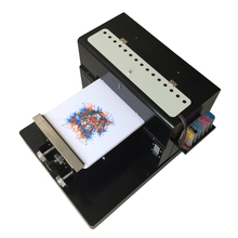 Multicolor A3 Size DTG Digital Garment Printer Directly  Print Dark Light Color Flatbed Printer for TShirt Clothes With Computer