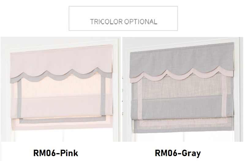 NEW Fashion Blackout / Light filtering Roman Blinds Curtain Customize sizes RM06