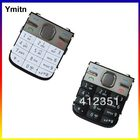 New Black/Silvery/Golden Ymitn Housing Home menu keypads button cover case For NOKIA C5 Replacement