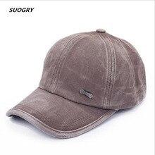 Wash baseball Caps Cotton Snapback Spring Casquette hat Comf