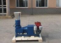 Manual 15HP Diesel Engine MKL225D Wood Pellet Mill Machine