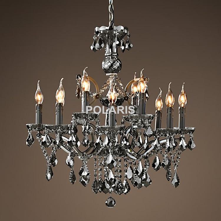 Vintage incandescent cristal candelabru de iluminat Candelabru - Iluminatul interior - Fotografie 5