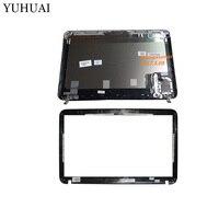 NEW LCD Back Silver Cover LCD Front Bezel For HP Pavilion DV6 DV6 6000 665288 001