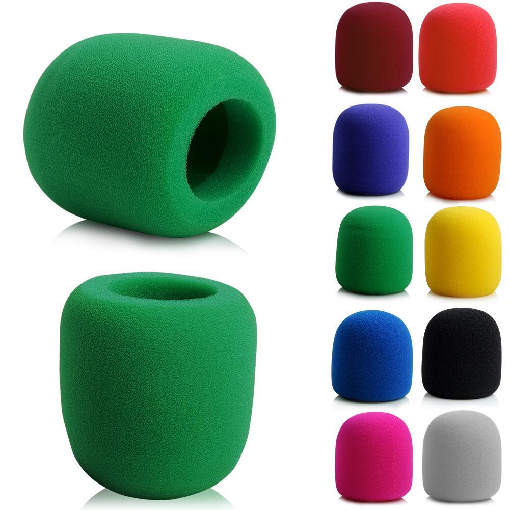 YCDC 5PCS Free Shipping Large Black Windshield Cover Microphone Sponge Foam For Audio Technica Studio Recording Mic