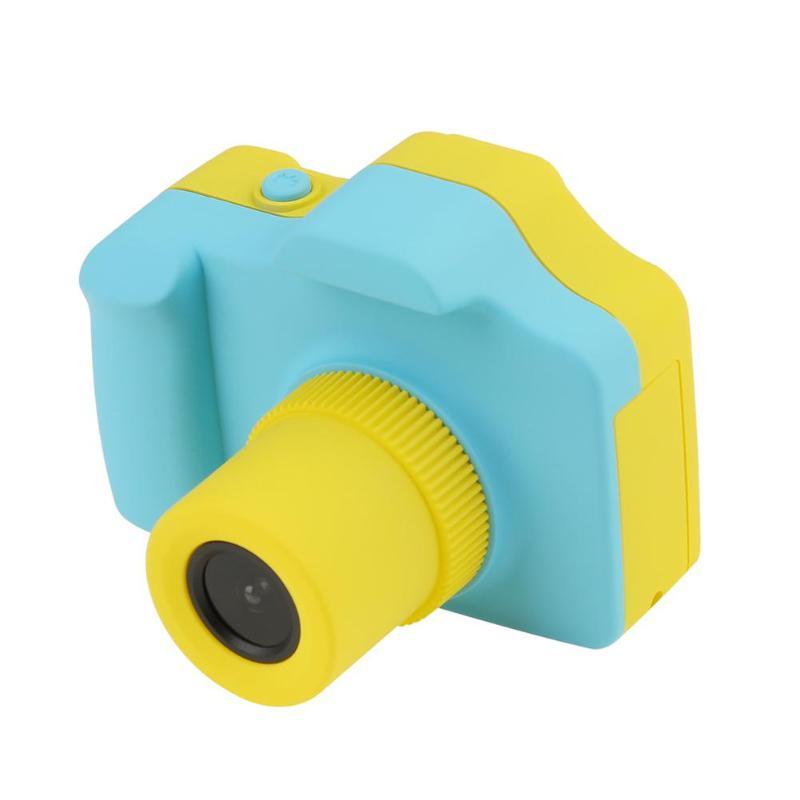 Bande dessinée caméra vidéo enfants apprennent jouets support TF carte photo 1.77 pouces appareil photo numérique enfants couleur mini LSR #5
