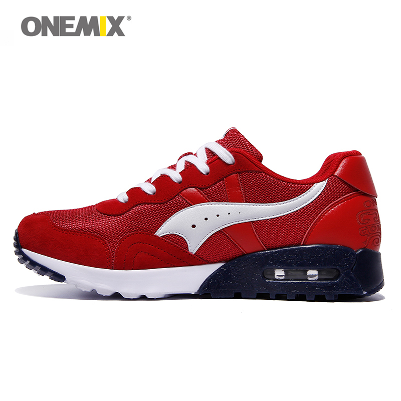 Onemix Free shipping mens trail running shoes colorful sport mesh breathable sneakers sport men shoes for sales size EU 36-45