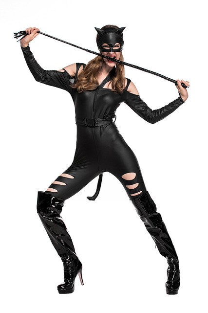 Sexy Black Fight Women Cat Costume for Role Playing Bodycon Jumpsuit Night Prowler Sexy Catwoman Catsuit  sc 1 st  AliExpress.com & Sexy Black Fight Women Cat Costume for Role Playing Bodycon Jumpsuit ...
