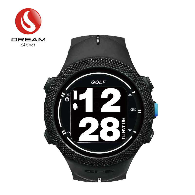 Dream Sport GPS GOLF Watch Monitor With World Wide Course Map Update In Real Time