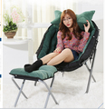 Fold the lazy sofa. Cloth art sofa chair. Reading chair