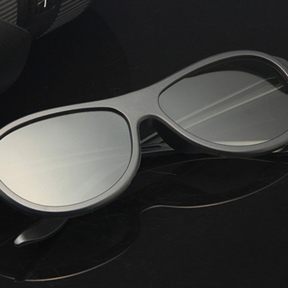 Circular Polarizing Passive Woman Man 3D <font><b>Movie</b></font> Glasses For 3D TV Cinemas High Quality Fashion image