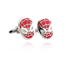 Hero Face Cufflinks For Mens And Women Fashion Brand Durable Bouton de manchette Quality Special Gifts Men Gemelos