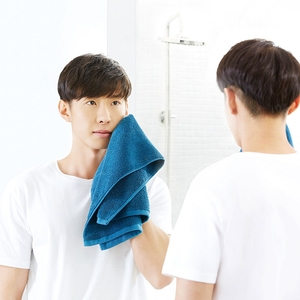 Image 5 - Original Youpin zajia Towel 100% Cotton Strong Water Absorption Sport Bath Wash Soft Towels Durable Skin friendly Facecloth