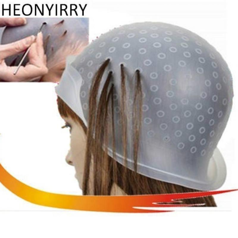 Salón profesional reutilizable color de pelo colorante resaltado - Cuidado del cabello y estilo