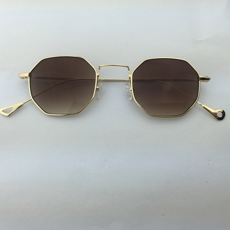 Dave 2019 Time-limited Round Sunglasses Women Vintage Metal Female Sun Glasses Small Eyewear Steampunk Mirror Oculos De Sol