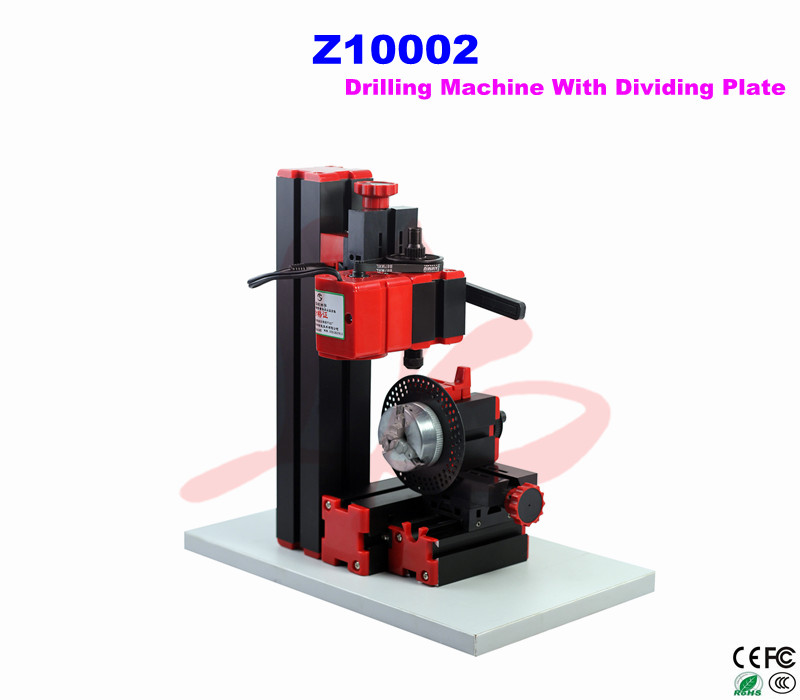 Mini lathe Z10002 mini Drilling Machine With Dividing Plate for teaching and DIY diy wood lathe mini lathe machine polisher table saw for polishing cutting b10 metal mini lathe wood drilling with hole puncher