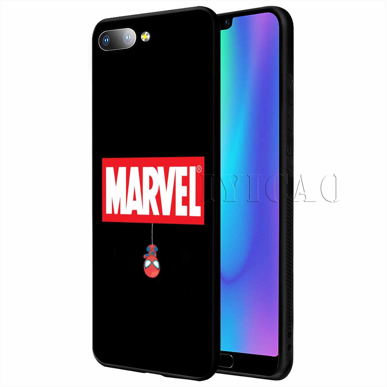 Avengers Endgame Marvel Iron Man Thanos Molle della Cassa Del Silicone per Huawei Y9 Prime 2019 Copertura Honor 20 8X8 9 9X10 Lite 7C 7A Pro
