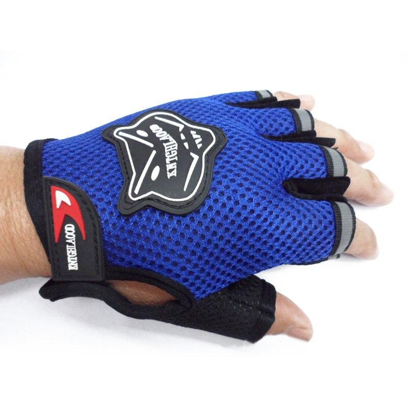 Children Kids Riding Cycling Bike Gloves Half Finger Breathable Anti-slip Gloves