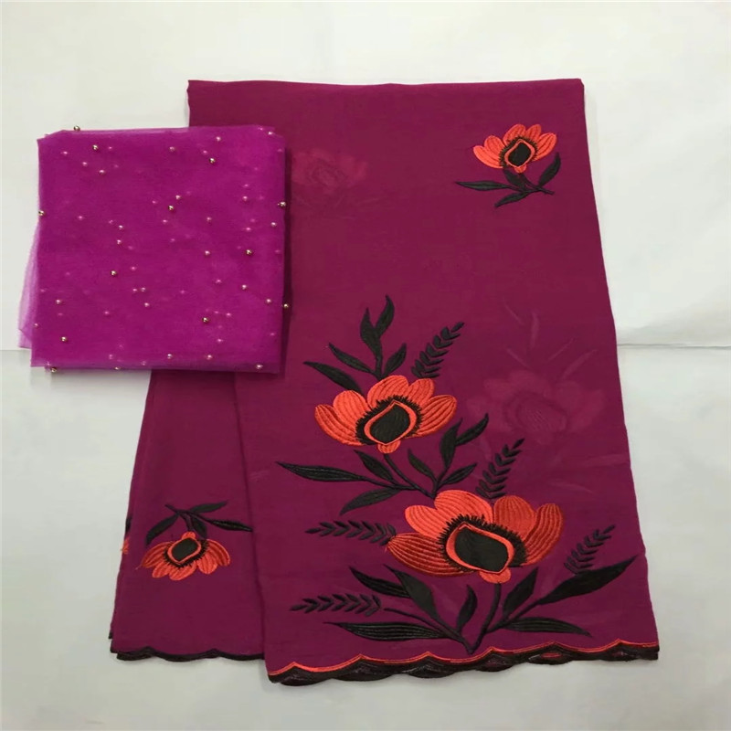 5+2yard Swiss lace fabric 2019 latest heavy beaded embroidery African cotton fabrics Swiss voile lace popular Dubai style LXE0135+2yard Swiss lace fabric 2019 latest heavy beaded embroidery African cotton fabrics Swiss voile lace popular Dubai style LXE013