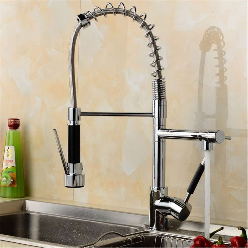 manufacturers selling chrome plated kitchen sink faucets deck installed spring kitchen kitchen mixer tap hot and cold water tap. beautiful ideas. Home Design Ideas