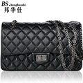 2016 new Fashion Ladies Shoulder Strap With Folded Messenger bag Handbag With Metal Buckle Hand bag