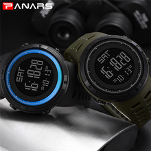 New Trend Fashion Digital Watch Men Sports Electronic Watch Military Waterproof LED Watch Outdoor Shock For Running Chronograph synoke new explosions electronic watch men s personality trend of students fashion outdoor sports electronic watch waterproof