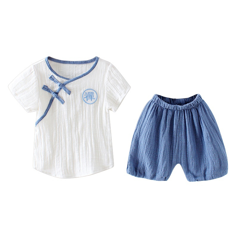 Baby Boys Sport Sets Comfortable For Dressing In Summer With Sleeveless Suitable For Your Kids