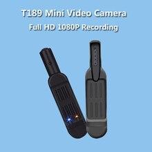 T189 Mini Cámara Full HD 1080 P 720 P Micro Cámara 12 M de Vídeo pluma de La Cámara Mini DV DVR Cámara Grabadora de Voz Digital Con TV fuera