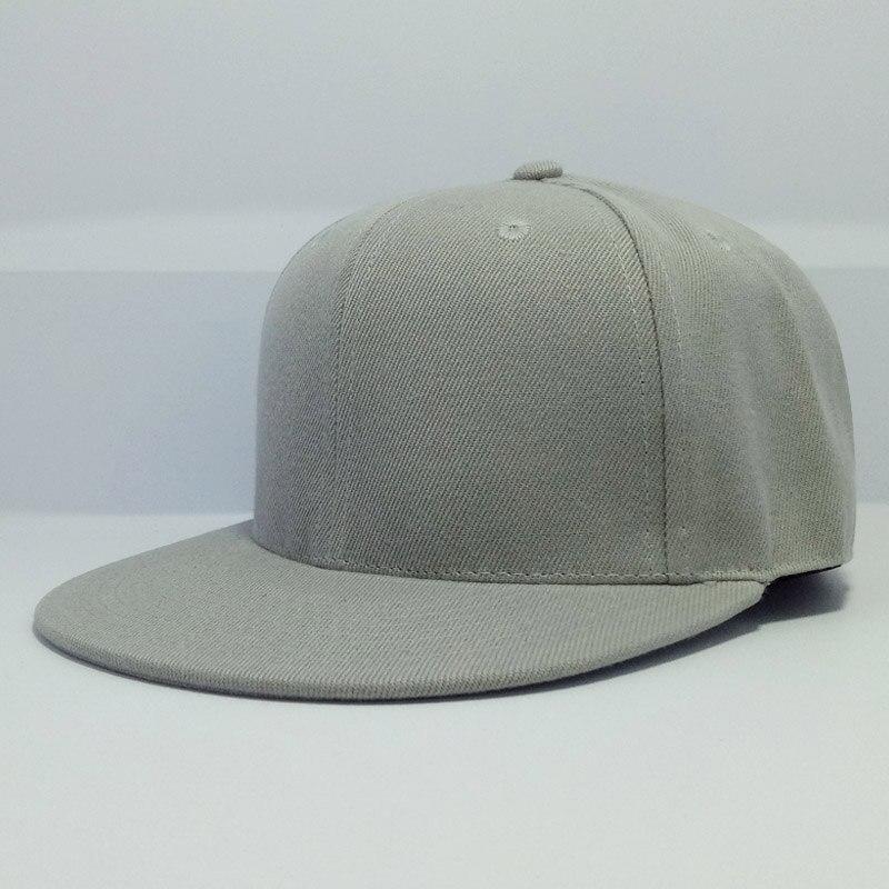 Full close cap fiitted hat women men s leisure flat brim bill hip hop big  size tennis 29d5da9412c