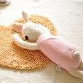 Детские Успокоить Игрушка Розовый Бежевый Куклы Спящая Кролика Плюшевые Игрушки Детские Bushion Подушка Для детей Подарок На День Рождения