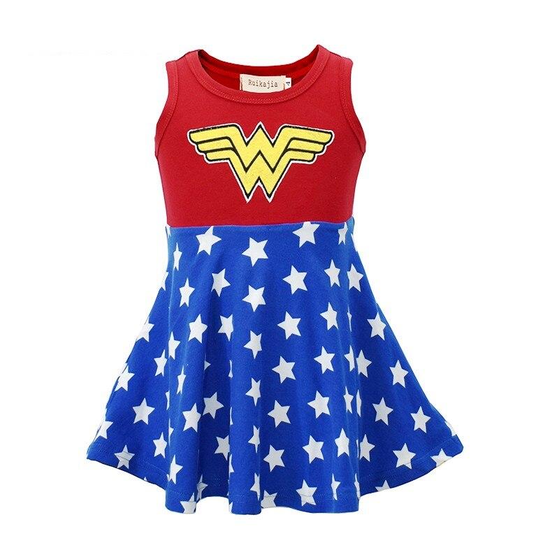 New girls summer t shirts children printing cat vest clothes kids tops kids shorts girls shorts girls clothing wonder woman