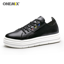 ONEMIX 2019 Couple Sneakers Increased Height Sport Shoes for Men Walking Simple Soft Women Jogging zapatos de mujer