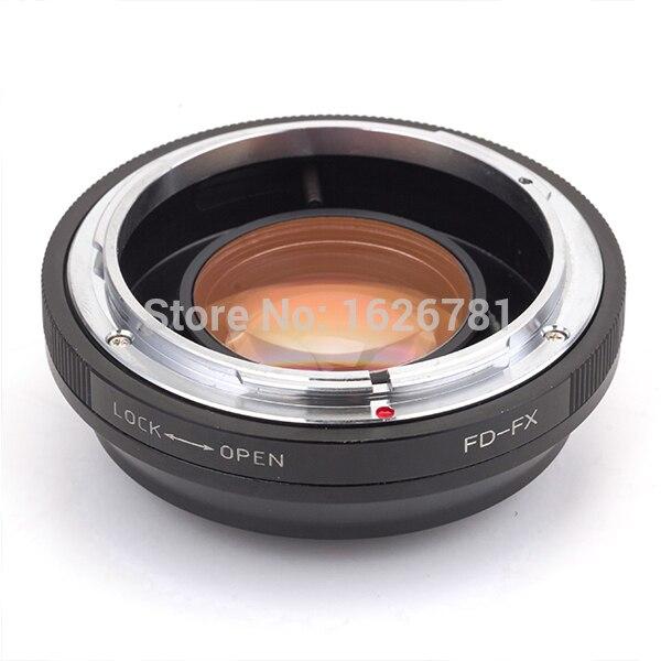 Pixco Lente Focal Reductor de Velocidad de Refuerzo Juego Adaptador Para Canon FD Lentes para Fujifilm FX CameraX-Pro1 X-E1-E2 x x X-M1-A1 X-T1