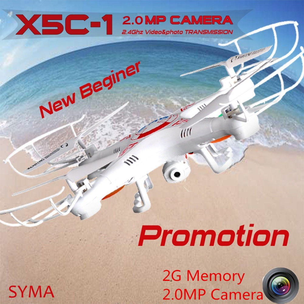 SYMA X5C 1 Upgrade version Syma x5c 2 4G Professional aerial Drone With Camera 2 0MP