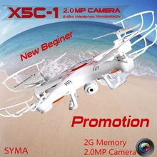 SYMA X5C-1 (Upgrade version Syma x5c)2.4G Professional aerial Drone With Camera 2.0MP Camera HD RC Quadcopter Dron Christmas Toy
