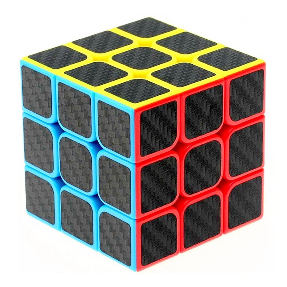 Zcube szénszálas matrica 3x3x3 sebesség mágikus kocka puzzle játék Fidget kockák oktatási játékok ajándék gyerekeknek